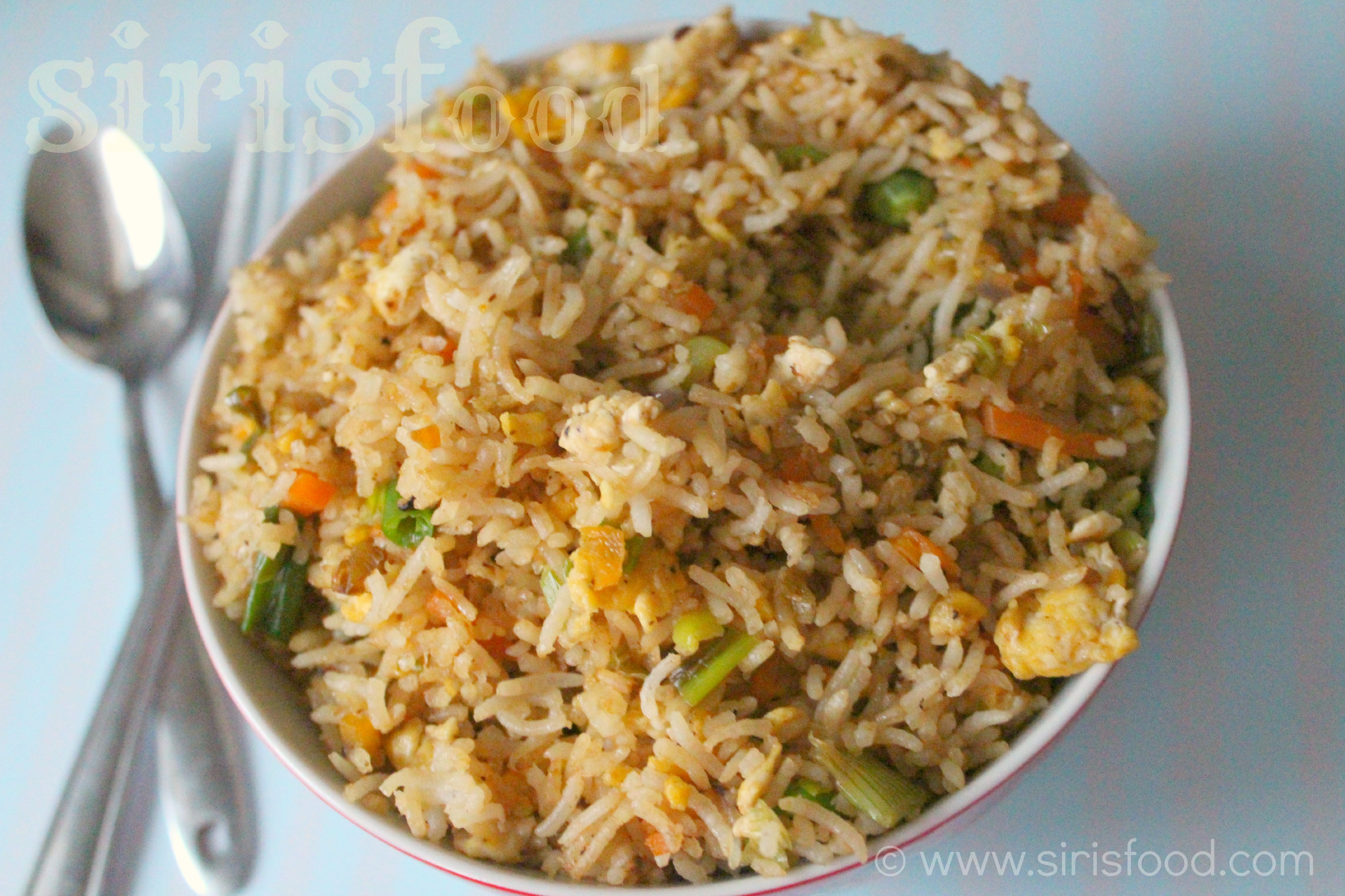 Indo chinese egg fried rice recipe indo chinese egg fried rice ccuart Image collections
