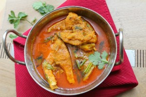 Bengali Yogurt Fish Curry | Spicy Fish Curry with Coconut Poppy Seeds Masala