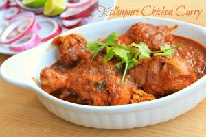 Kolhapuri Chicken Curry|Indian Chicken Recipes