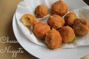 Chilli Cheese Nuggets Recipe | How to Make Cheese Nuggets