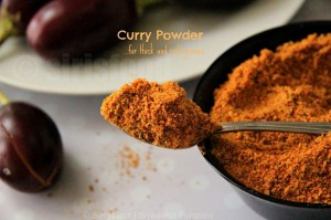 Multi Purpose Curry Powder | Home Made Curry Powder