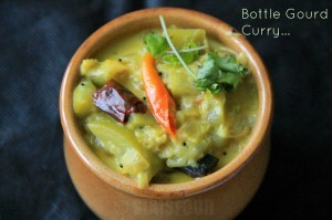 Sorakaya Palu Posina Kura | Spiced up Bottle Gourd Curry in Milk | Lauki Ka Subzi