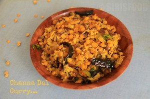 Channa Dal Coconut Curry | Kobbari Pachi Senagapappu Koora | Andhra Recipes