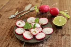 Simple Summer Radish Salad